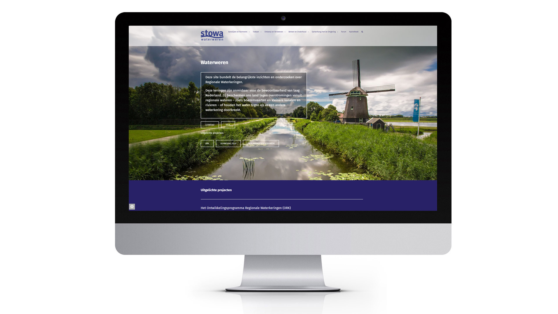 Waterweren-website