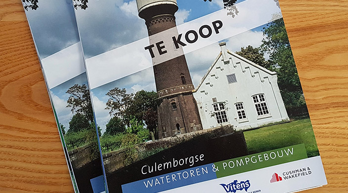 Brochure Watertoren Culemborg