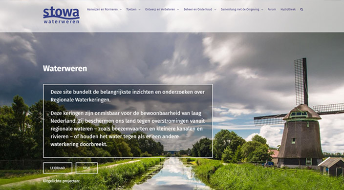 Waterweren Website
