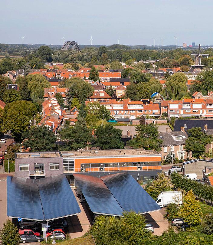 Zonnedak en Laadplein Culemborg